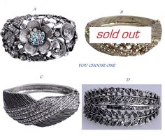'You Choose 1 Vintage inspired Bracelet ' is going up for auction at  3pm Fri, Jul 19 with a starting bid of $7.