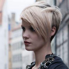 coiffure asymétrique cheveux fins | Coiffure 2010 : 10 idées de coupes courtes pour la rentrée ...