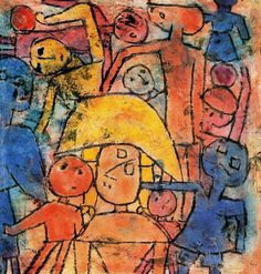 Paul Klee, Colorful Group