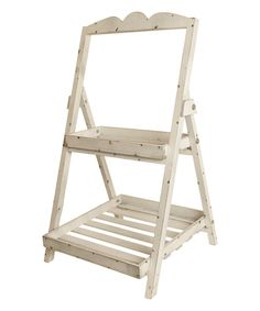 Look at this Two-Tier Garden Ladder on #zulily today!