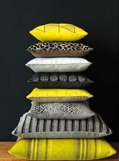 Lelievre_Cushions_Various_yellow