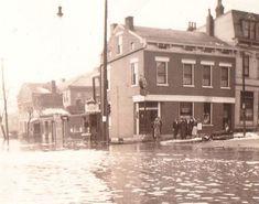 1937 Flood, Newport, Kentucky; 9th & York; The Green Derby