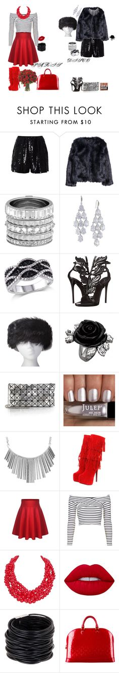 """disco Paris"" by svetlozeme ❤ liked on Polyvore featuring Naeem Khan, H&M, Henri Bendel, Carolee, Giuseppe Zanotti, UGG Australia, Bao Bao by Issey Miyake, Wet Seal, Topshop and Humble Chic"