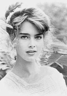 Brooke Shields. Definitivamente, a pessoa mais bonita que já pisou nessa terra.