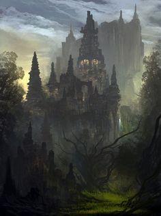 Castle   Scene Design Inspiration   Pinterest