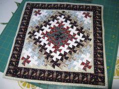 """Around the World"" twister pattern, for Anne"
