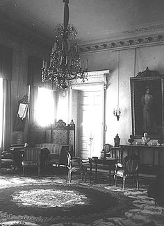 Formal Reception Room of the Tsaritsa Alexandra in Alexander Palace