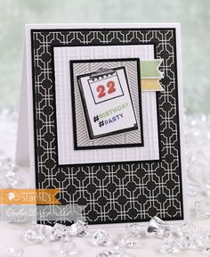 Stamp Talk with Tosh: Planner Basics Birthday Card ~ Waltzingmouse Special Birthday, Anniversary Cards, Origami, Stampin Up, Special Occasion, Birthday Cards, Greeting Cards, Paper Crafts, Creative