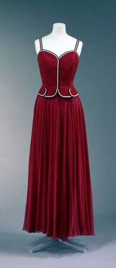 Chanel Dress - 1938-39 - House of Chanel - Design by Gabrielle 'Coco' Chanel