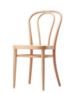 Der berühmte Bistrostuhl ist eine Ikone - THONET-Möbel - Stühle, Tische, Sessel und Sofas, Design-Klassiker aus Bugholz und Stahlrohr