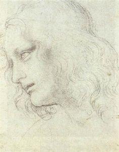 Study for the Last Supper: James - da Vinci Leonardo