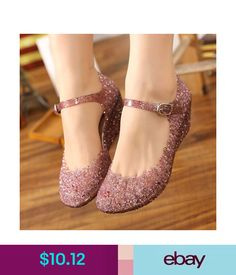 605a5704372 Heels Hot Lady High Heels Glass Slipper Jelly Shoe For Girls Sandals Beach  Wedge Shoes