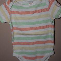 Stripe onesie, 3-6 months