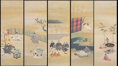 酒井抱一 : Sakai Hoitsu (Japanese: 1761-1828)