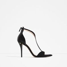 HIGH HEEL STRAPPY SANDALS from Zara