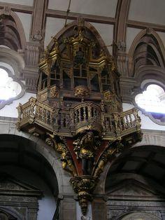 Púlpito, Convento de S. Gonçalo, Amarante - Portugal