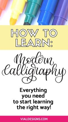 How To Do Calligraphy, Modern Calligraphy Alphabet, Brush Pen Calligraphy, Hand Lettering Alphabet, Brush Lettering, Beginning Calligraphy, Modern Calligraphy Quotes, Calligraphy Video, Calligraphy Writing