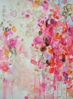 """I'm newly captivated with abstract art - Casey Matthews """"A Private Matter"""" (30x40)"""