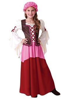 Little Tavern Girl Costume  sc 1 st  Pinterest & The 278 best Girls Costumes images on Pinterest | Female costumes ...