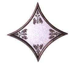 Pequeño espejo realizado en forja simulando hierro viejo de estilo clásico. Tamaño aprox.: - See more at: http://www.princesslarashop.com/tienda.php?dir=100&pg=2#sthash.kFTZwljE.dpuf