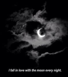 Oh hell, we all do... the moon pulls us to her in a way that only our hearts and souls understand...