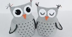 Amigurumi Crochet Owl Free Patterns Instructions: Crochet Owl Toys, Ornaments, Baby Gifts, Home Decor, Owl Pillows and Crochet Diy, Crochet Simple, Crochet Birds, Crochet Amigurumi Free Patterns, Crochet Animals, Crochet Crafts, Knitting Patterns, Free Knitting, Kids Knitting