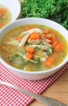 Chicken Vegetable & Quinoa Soup – Gluten Free