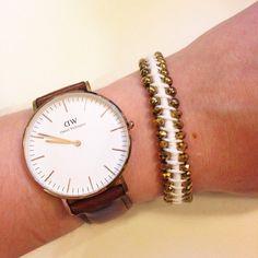Bracelet LoopDeDoo et perles #jenfiledesperlesetjassume