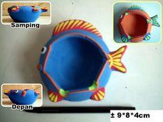 souvenir pernikahan gerabah asbak rokok berbentuk ikan khas jogjakarta #souvenir #asbak #jogjakarta