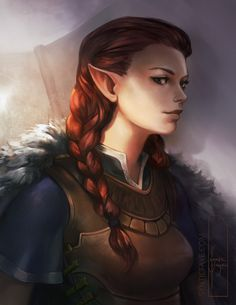 Arva protrait, trudy wenzel on artstation at… female character concept, female character inspiration Female Character Concept, Character Design Cartoon, Female Character Inspiration, Fantasy Inspiration, Character Art, Dungeons And Dragons Characters, Dnd Characters, Fantasy Characters, Female Characters