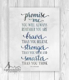 Christopher Robin Quote  Nursery decor  Baby Nursery by SpoonLily
