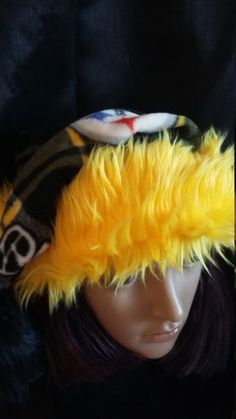 5960c1d954597 Items similar to Steelers Santa hat and fleece scrunch scarf on Etsy