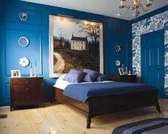 Hasil gambar untuk blue apartment decoration