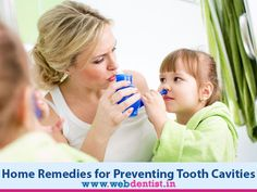 Best #Home_Remedies for Preventing #Tooth_Cavities @ Webdentist.in  If you have a persistent toothache, chances are that you have developed a cavity. While cavities can't be treated without the expert care of a dentist, you can definitely take some precautions at home to prevent them or to alleviate the early symptoms. Cavity can be treated with natural home remedies. Webdentist recommends the best home remedies to prevent tooth decay.