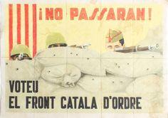 Guerra Civil Espanhola - 1937 - Vales de racionamento - 10 peças destacáveis . http://leiloesbr.mktsender.net www.levyleiloeiro.com.br