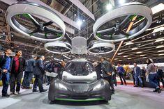 未来のクルマは空を飛び運転せず所有せずーーエアバスが空飛ぶクルマPop.Upコンセプト公開