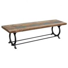 Rochelle Reclaimed Wood Bench