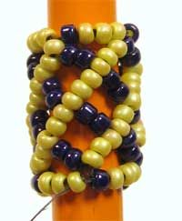 Learn African Helix Stitch in 4 Steps! - Daily Blogs - Beading Daily  #seed #bead #tutorial