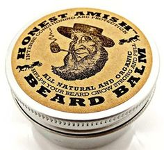 Honest Amish Beard Balm Organic Oils And Butters