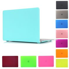 Matte Rubberized Crystal Clear Hard Case Cover For Macbook Pro Pro Retina 12 13 15 inch Macbook Air 11 13 Laptop Case Macbook Pro 13, Macbook Pro Cover, New Macbook Air, Macbook Air 13 Case, Macbook Laptop, Laptop Cases, Mac Book, Desktop Accessories, Laptop Accessories