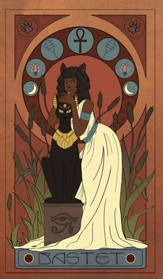 Bastet Goddess, Goddess Art, Divine Goddess, Egyptian Cats, Ancient Egyptian Art, Ancient Aliens, Ancient Greece, Ancient History, Egyptian Mythology
