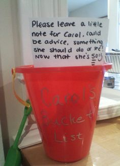 This was at my friend's 50th b-day party last night, such a cute idea....