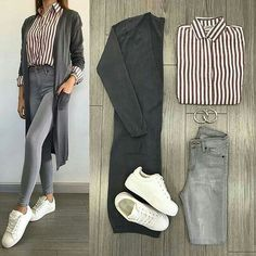 Korean Fashion Looks .Korean Fashion Looks Office Outfits Women, Casual Work Outfits, Professional Outfits, Teen Fashion Outfits, Mode Outfits, Look Fashion, Outfits For Teens, Trendy Outfits, Fall Outfits