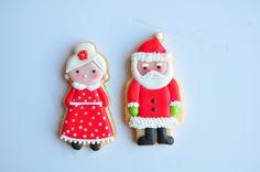 Mr. & Mrs. Claus - Mère-Noël et Père-Noël   Jolies Gourmandises - Flickr - Photo Sharing!