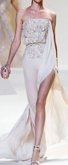 sexy prom dress #white
