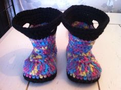 Goshalosh booties - Rainbow