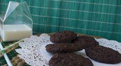 Black bean cookies med mandelsmør og kanel
