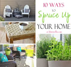 10 Ways to Spruce Up