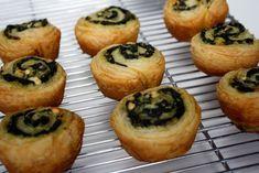 Spinach and Feta Swirls
