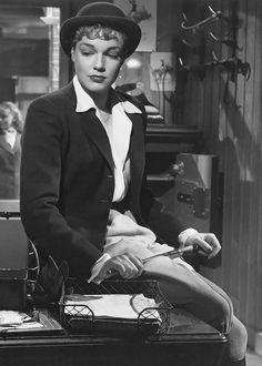 Simone Signoret Manèges, 1950